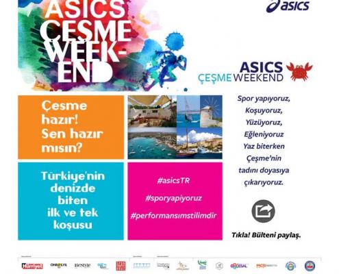 ASICS Ebülten Tasarım Örneği